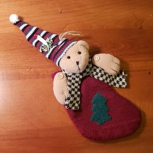 Other - Holiday Teddy Bear Stocking Ornament